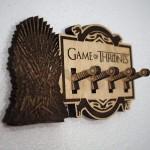 Game Of Thrones Logolu Ahşap Anahtarlık