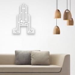 Cami Desenli Maşallah Yazılı Ahşap Duvar Panosu