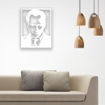 Atatürk Portresi Ahşap Duvar Panosu