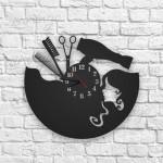 Bayan Kuaförü Malzemeleri Figürlü Duvar Saati