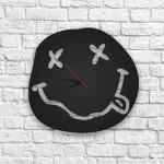 Nirvana Logolu Ahşap Duvar Saati