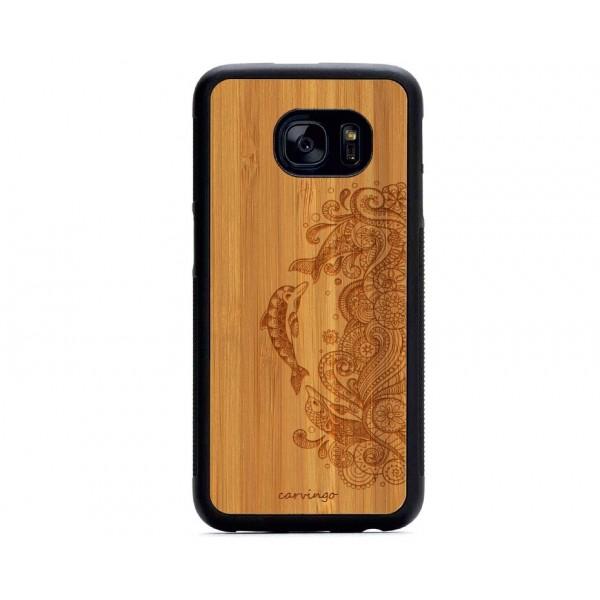 Yunus Figürlü Samsung Ahşap Telefon Kılıfı