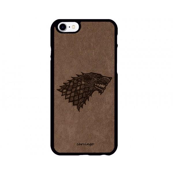 Stark Logolu iPhone Süet Telefon Kılıfı