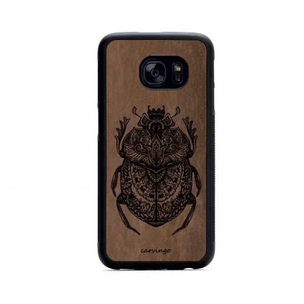 Büyülü Böcek Figürlü Samsung Süet Telefon Kılıfı