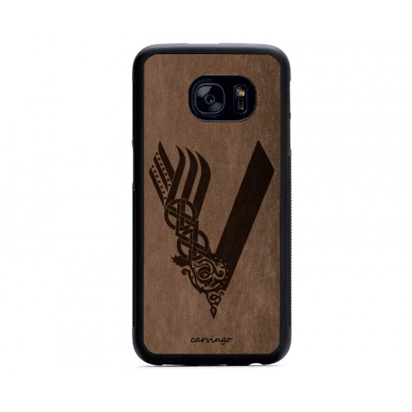 Vikings Logosu Samsung Süet Telefon Kılıfı
