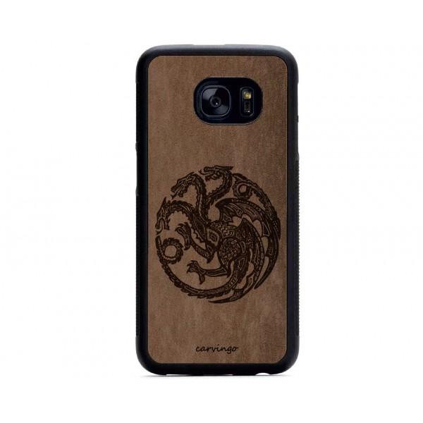 Targaryen Figürlü Samsung için Süet Telefon Kılıfı