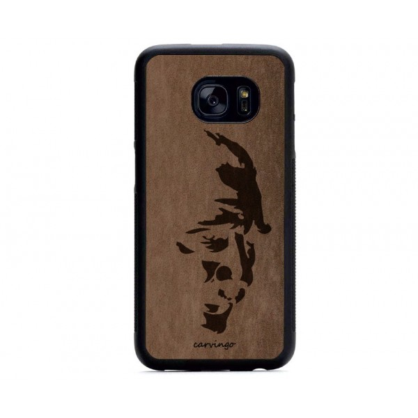 Atatürk Portre 3 Samsung Süet Telefon Kılıfı