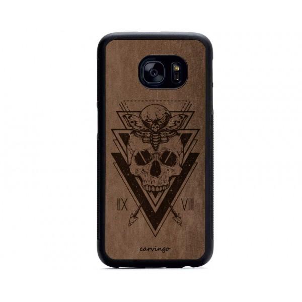 Triangle Figürlü Samsung Süet Telefon Kılıfı