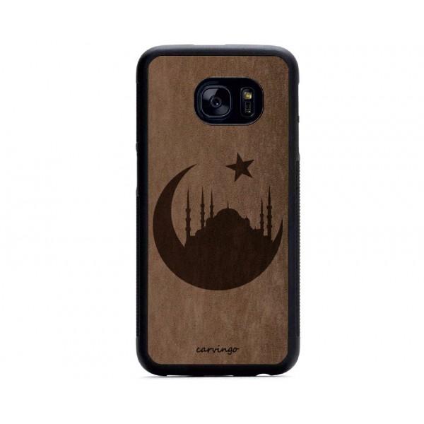 İslam Desenli Samsung Süet Telefon Kılıfı