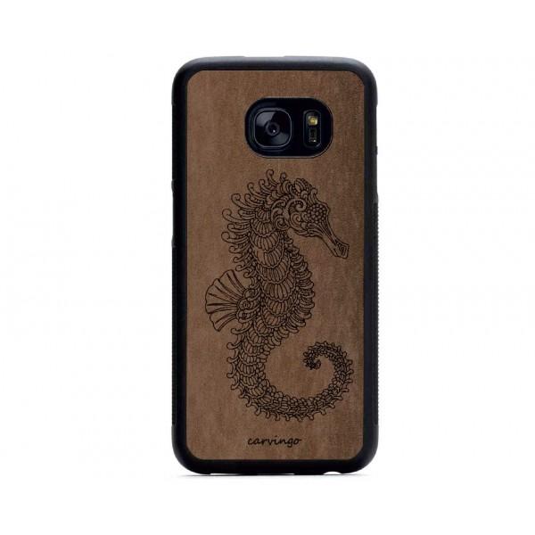 Denizatı Figürlü Samsung Süet Telefon Kılıfı